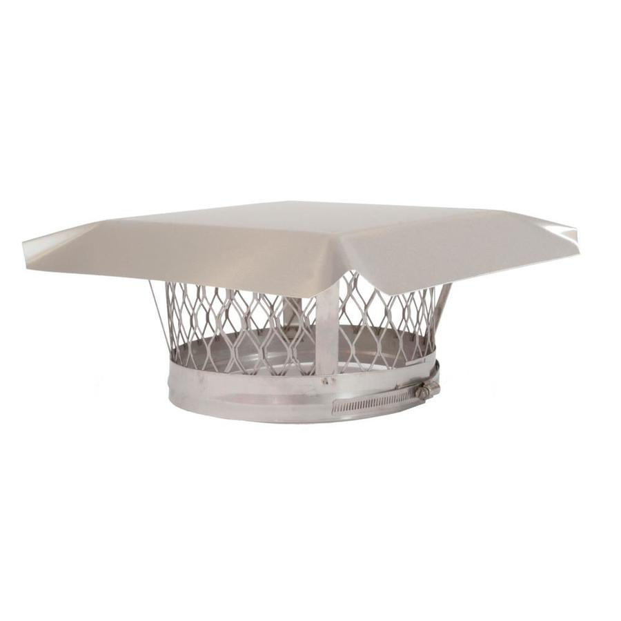 Shop Shelter 4 In Stainless Steel Chimney Cap At Lowes Com