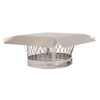 Shelter 11-in W x 11-in L Stainless Steel Square Chimney Cap