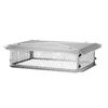 Shelter 15-in x 37-in Stainless Steel Chimney Cap