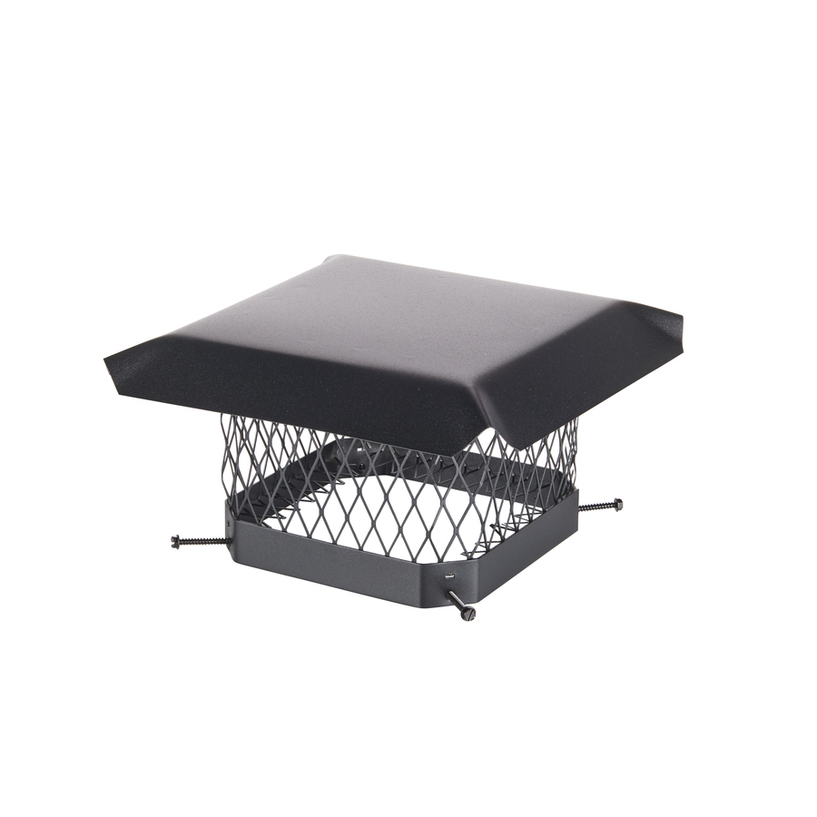 Shop Shelter 9 In X 9 In Black Painted Galvanized Steel