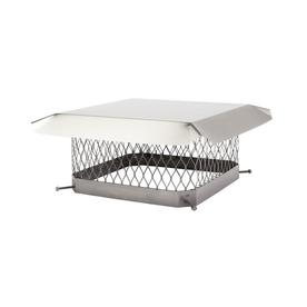 Shelter 13-in W x 13-in L Stainless Steel Square Chimney Cap
