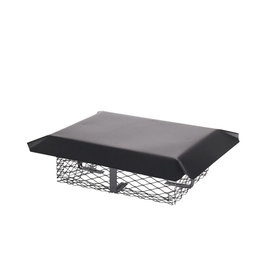 Shop Shelter Adjustable Black Painted Galvanized Steel