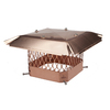 Shelter 9-in x 9-in Copper Chimney Cap