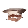 Shelter 9-in x 18-in Copper Chimney Cap