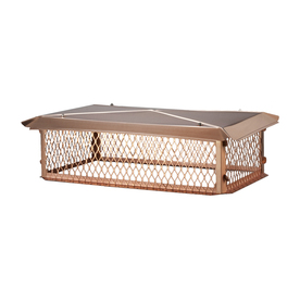 Shelter 14-in x 14-in Copper Chimney Cap