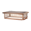 Shelter 14-in x 26-in Copper Chimney Cap