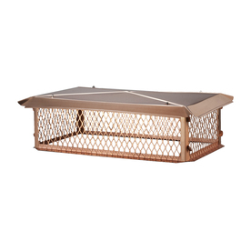 Shelter 14-in x 30-in Copper Chimney Cap