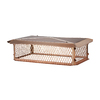 Shelter 15-in x 37-in Copper Chimney Cap