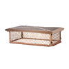 Shelter 17-in x 41-in Copper Chimney Cap