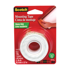 Scotch 1-in x 50-ft Two-Sided Tape