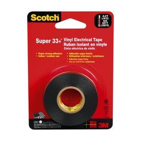 Scotch Super 33+ 3/4-in x 37-1/2-ft General-Duty Electrical Tape