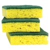 Scotch-Brite 3-Pack Cellulose Sponge with Scouring Pad