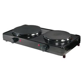 Aroma 10.4-in 2-Burner Metal Table-Top Burner