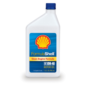 Shell Products 32 oz 4-Cycle 10W-40 Conventional Engine Oil