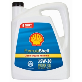 Shell Products 160 oz 4-Cycle 5W-30 Conventional Engine Oil