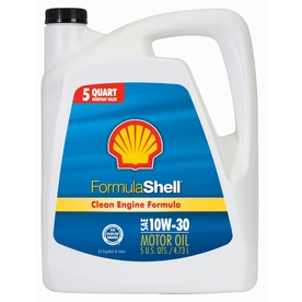 Shell Products 160-oz 4-Cycle 10W-30 Conventional Engine Oil