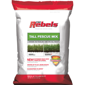 Rebel Rebels 20 lbs Sun and Shade Grass Seed Mixture