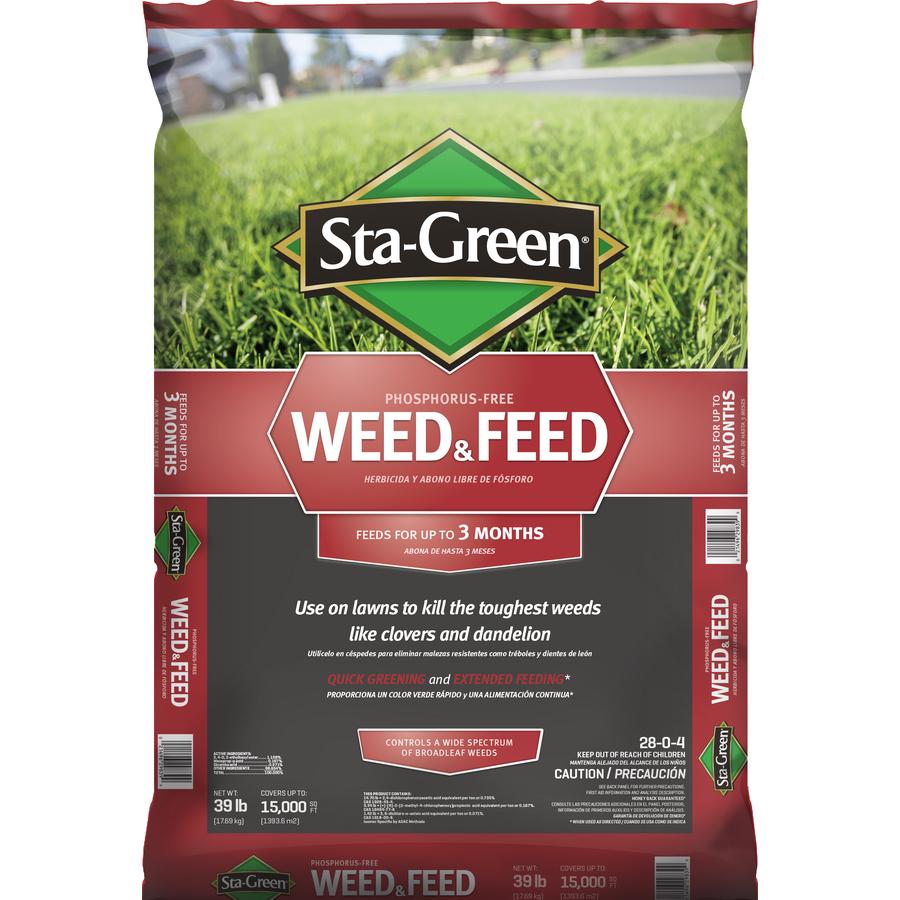 Shop sta green 39 lbs lawn fertilizer at for Sta green garden soil