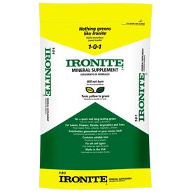 Ironite 4,000-sq ft Ironite Lawn Fertilizer (1-0-1)