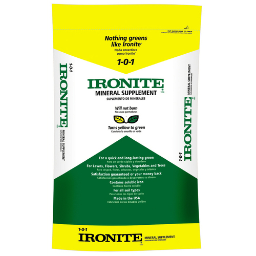 Applying Ironite On Fescue Lawnsite