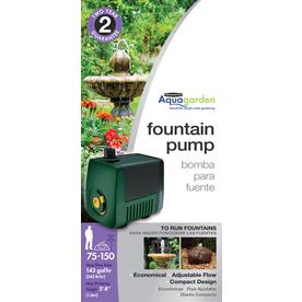 Shop Pennington 158 Gph Submersible Fountain Pump At