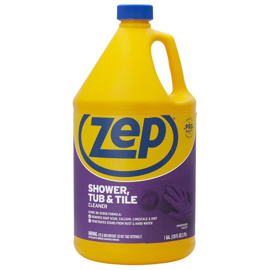 Shop Zep Commercial Gallon Shower & Bathtub Cleaner At