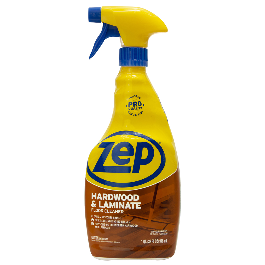 Shop zep commercial 32 oz hardwood floor cleaner at for Hardwood floor cleaner