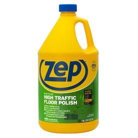 Shop zep commercial high traffic 128 oz floor polish at for Zep concrete floor cleaner