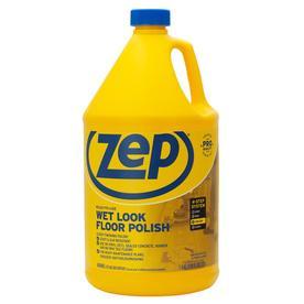 Shop zep commercial wet look 128 oz floor polish at for Zep concrete floor cleaner