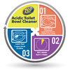 Zep Commercial Acidic 32 fl oz Toilet Bowl Cleaner