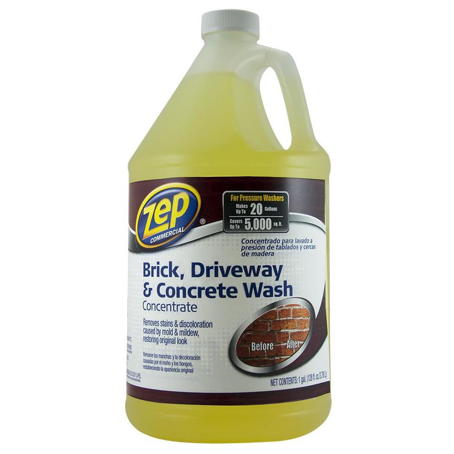Shop zep commercial brick driveway and concrete cleaner for What to clean concrete with