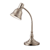 "Portfolio 20-1/4"" Adjustable Brushed Nickel Desk Lamp"