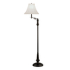 Portfolio 61-in Bronze Floor Lamp with Ivory Shade