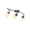 allen + roth 3-Light Brushed Steel Fixed Track Light Kit