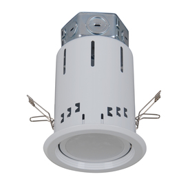 Utilitech Pro White Integrated Led Remodel Recessed Light Kit (Fits Opening: 4-In)
