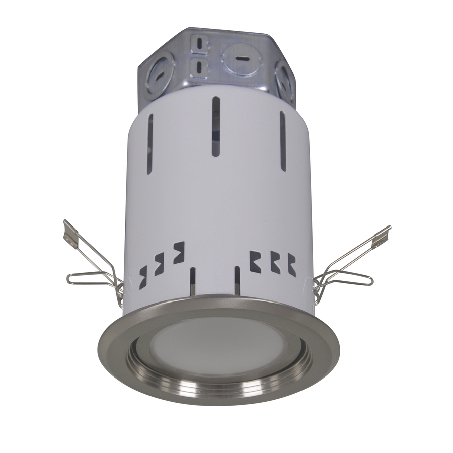 Utilitech 4 In White Integrated Led Remodel Recessed Light: Shop Utilitech Pro White Integrated Led Remodel Recessed