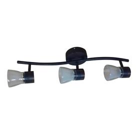 allen roth 3 light bronze led fixed track light kit at. Black Bedroom Furniture Sets. Home Design Ideas