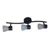 allen + roth 3-Light Bronze LED Fixed Track Light Kit