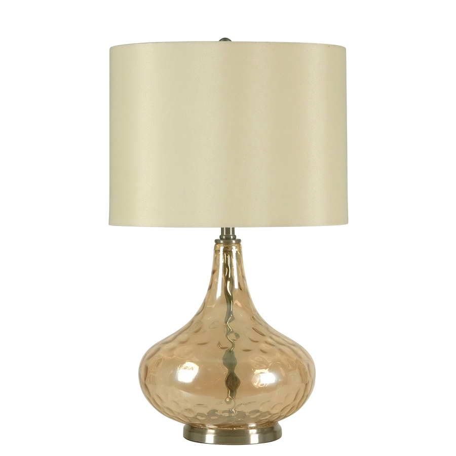shop catalina 23 5 in 3 way switch cognac indoor table lamp with. Black Bedroom Furniture Sets. Home Design Ideas