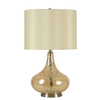 Catalina 23-1/2-in 3-Way Cognac Table Lamp with Beige Shade