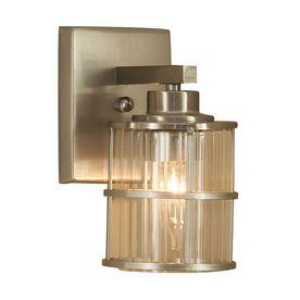 allen + roth Kenross Brushed Nickel Bathroom Vanity Light