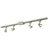 Project Source Sparta 4-Light 42-in Silver Step Linear Track Lighting Kit
