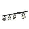 Project Source 4-Light 42-in Antique Bronze Dimmable Gimbal Linear Track Lighting Kit