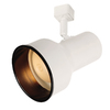 Portfolio 1-Light White Step Linear Track Lighting Head