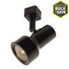 Portfolio 1-Light Black Step Linear Track Lighting Head