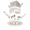 Utilitech White 3-in Remodel Recessed Lighting Kit