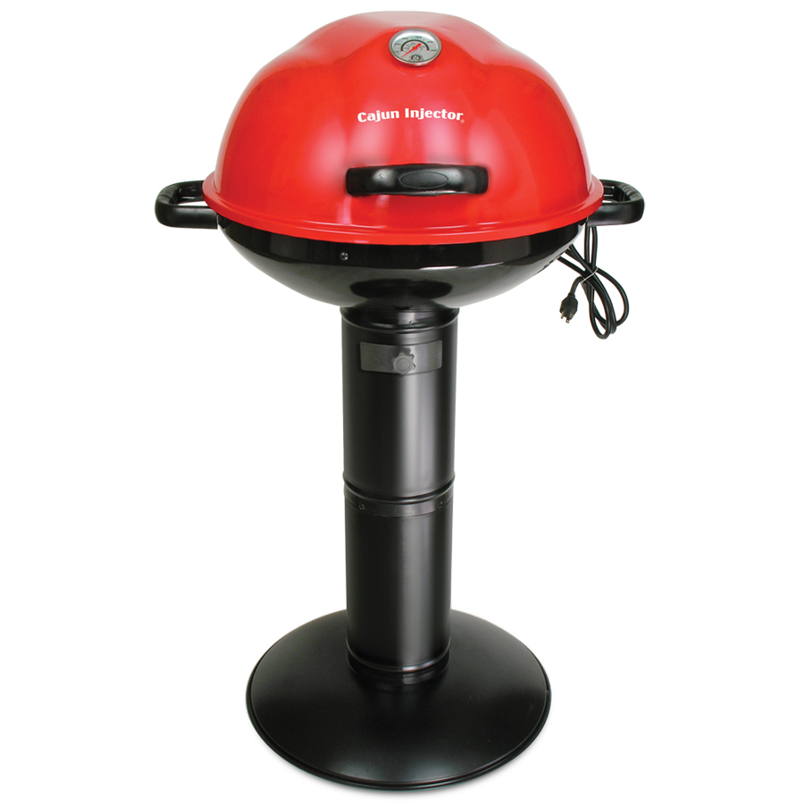 Lowe S Electric Grills Outdoor ~ Shop cajun injector watt red electric grill at lowes