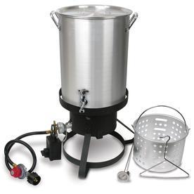 Cajun injector 30 quart 20 lb cylinder manual ignition gas fryer