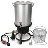 Cajun Injector 30-Quart 20-lb Cylinder Manual Ignition Gas Fryer
