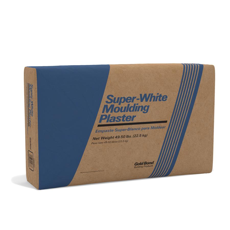 Shop Gold Bond 50 Lb Bag White Moulding Plaster At